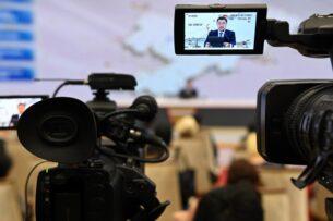 Речь Садыра Жапарова на пресс-конференции. О каких достижениях говорил президент? (текст)