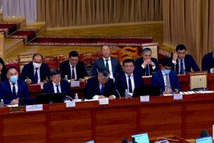Назначены руководство и члены нового кабинета министров Кыргызстана