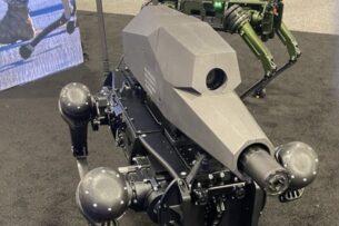 Американцы показали робопса-снайпера, который передвигается и стреляет автономно (видео)